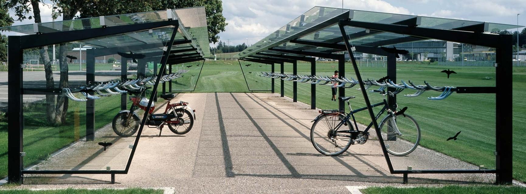 Abris à vélos