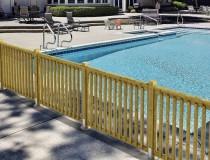 barri re de piscine bois sud environnement. Black Bedroom Furniture Sets. Home Design Ideas