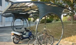 Valence d'Agen - Abri vélo - Sud Environnement