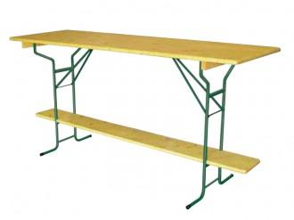 Table Festivité comptoir bois
