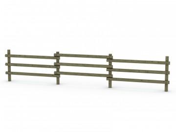 clôtures barrières bois