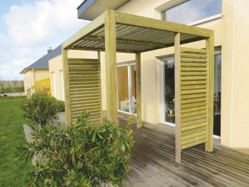 pergola aménagement terrasse