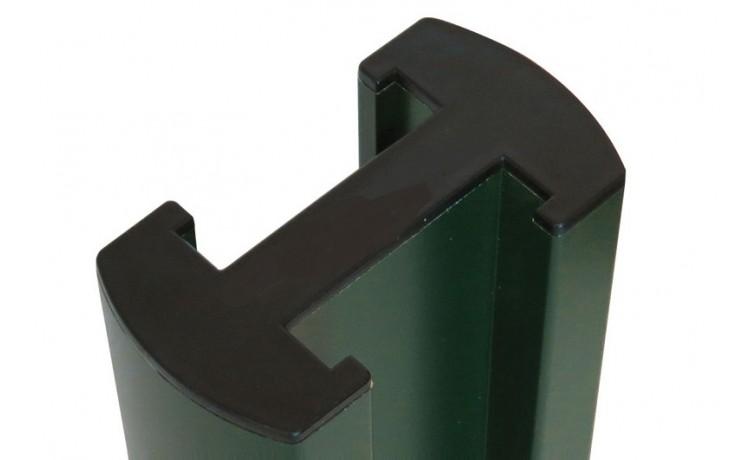 Poteau aluminium rainure 46mm pour cadre 44 mm - SUD ENVIRONNEMENT