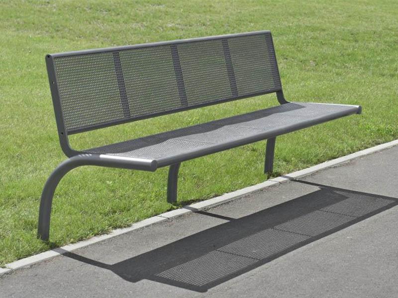 banc b500 treillis m tallique sceller sud environnement. Black Bedroom Furniture Sets. Home Design Ideas